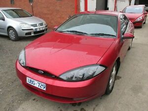 1999 Ford Cougar SW MY99 Red 4 Speed Automatic Coupe Tottenham Maribyrnong Area Preview