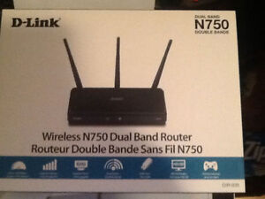 DLink N750 Dual Band Router Brank New St. John's Newfoundland image 1