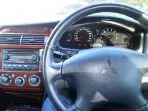 2003 Mitsubishi Verada Sedan RWC FULL SERVICE BOOKS LUXURY PACK