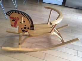 Stunning Wooden Rocking Horse - Very Good Condition