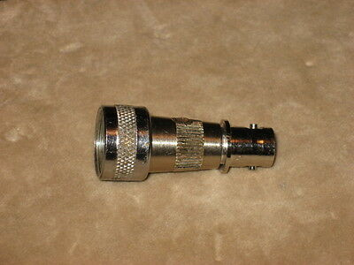 Heathkit, EICO Microphone (Amphenol) to BNC Adapter