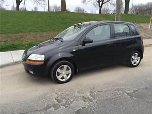 2005 CHEVROLET AVEO  , MANUEL ,  AIR CLIMATISE  , 1.6 LITRES