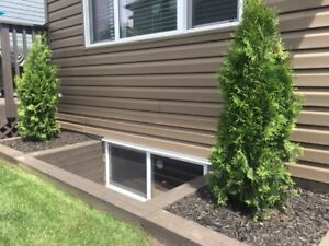 Egress Window Cut-Ins/Enlargements & Wells, Foundation Repairs