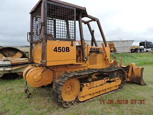 CASE 450 CRAWLER DOZER /6 WAY BLADE AND WINCH