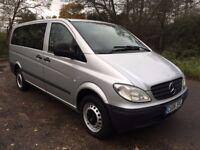 Mercedes Vito 109 CDI Long 9 seater mini bus LWB van