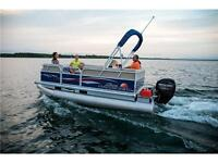 NEW 2015 Suntracker Party Barge 16 DLX