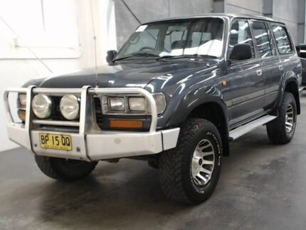 1991 Toyota Landcruiser GXL (4x4) GXL (4x4) Grey 5 Speed Manual 4x4 Wagon Beresfield Newcastle Area Preview