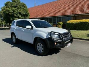 2014 Isuzu MU-X MY15 LS-M White 5 Speed Automatic Wagon Chermside Brisbane North East Preview