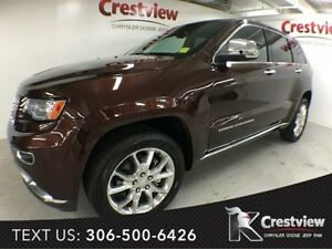 2015 Jeep Grand Cherokee Summit w/ Sunroof, Navigation