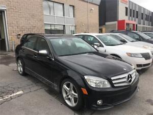 MERCEDES C350 4MATIC 2008 AUTO/ CUIR/ MAGS/ TOIT OUVRANT/ FULl !