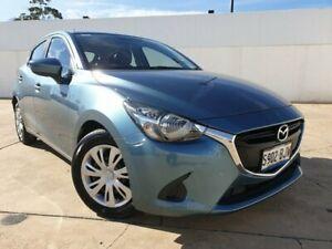 2015 Mazda 2 DJ2HAA Neo SKYACTIV-Drive Blue 6 Speed Sports Automatic Hatchback Medindie Walkerville Area Preview