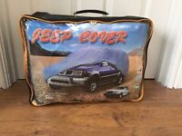 Jeep cover in carry case
