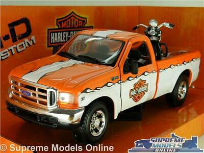 Ford Usa F-1 Custom Harley Davidson 1948 Fl Panhead 1948 Maisto 1:24 MI32171GRE