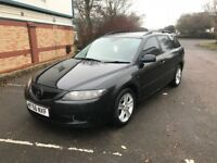 2006 MAZDA 6 TS2 2.0 PETROL 6 SPEED BOX ESTATE 147 BHP FULL SERVICE HISTORY RECENT CAMCHAIN