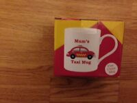*** MUM'S TAXI MUG *** mother's day gift