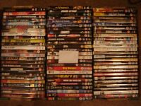 400 USED DVDS FROM PRIVATE COLLECTION IN GOOD CLEAN CONDITION