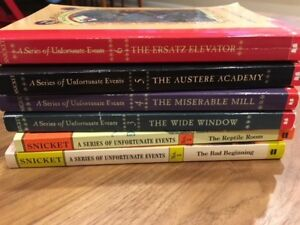 A Series of Unfortunate Events lot for sale