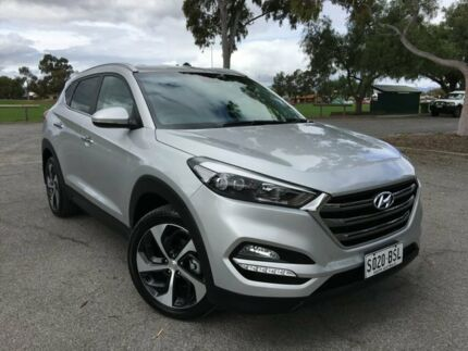 2016 Hyundai Tucson TLe MY17 Elite D-CT AWD Silver 7 Speed Sports Automatic Dual Clutch Wagon Nailsworth Prospect Area Preview