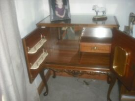 Antique drinks cabinet-Cramlington-Swap for Guitar, mandolin, concertina, violin, cello