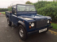 "Land Rover td5 defender high capacity pick up february 2002 ""51"""