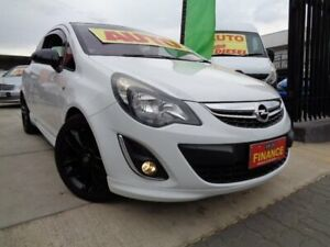 2012 Opel Corsa CO Colour Edition White 4 Speed Automatic Hatchback Enfield Port Adelaide Area Preview