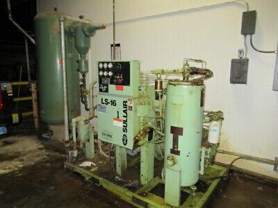 Sullair Air Compressor Ls-16-60lwcwc
