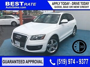 AUDI Q5 2.0T - APPROVED IN 30 MINUTES! - REBUILD YOUR CREDIT