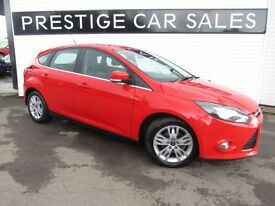 FORD FOCUS 1.6 TITANIUM NAVIGATOR ECONETIC TDCI START/STOP 5d (red) 2014