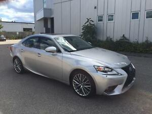 2014 LEXUS IS250 AWD LEATHER SUNROOF 53KM