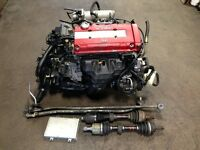 JDM B18C TYPE-R ENGINE MT LSD TRANSMISSION HONDA ACURA DC2 1996+