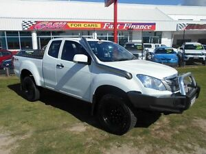 2015 Isuzu D-MAX MY15 SX Space Cab White 5 Speed Manual Cab Chassis Kippa-ring Redcliffe Area Preview