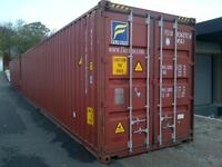 45 ft high cube sea containers for storage