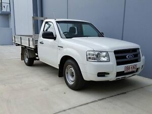 2007 Ford Ranger PJ XL (4x2) White 5 Speed Manual Gaven Gold Coast City Preview