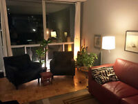 SPACIOUS APT: UNFURNISHED ROOM IN FURNISHED 2BDRM FOR GAY TENANT