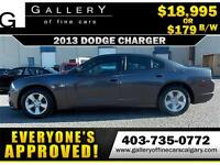 2013 Dodge Charger SE $179 bi-weekly APPLY NOW DRIVE NOW