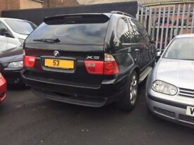 BMW X5 D SPORT AUTO 2002 BREAKING FOR SPARES