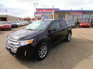 2012 FORD EDGE SEL LEATHER SUNROOF NAVI EASY FINANCE AVAILABLE
