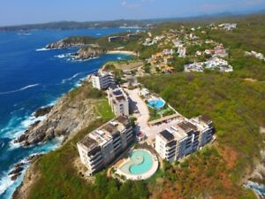 Huatulco Mexico Luxury Condo  (OCEAN FRONT)