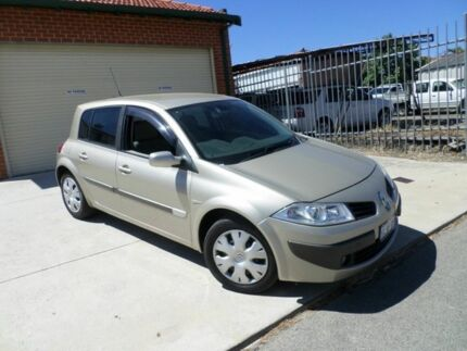 2006 Renault Megane II L84 Expression Gold 4 Speed Automatic Sedan Inglewood Stirling Area Preview