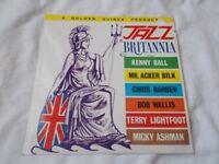 Vinyl LP Jazz Britannia Various Artists PYE Golden Guinea GGL 0247 Mono 1961