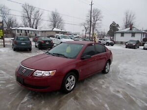 2007 Saturn Ion Clean Low Km $3995 Certified Plus Tax&License
