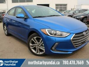 "2018 Hyundai Elantra LIMITED: 8"" TOUCH SCREEN/NAV/HEATED SEATS"
