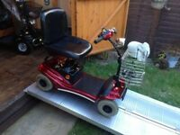 21 Stone Capacity Paris GK9 Mobility Scooter Excellent Batteries With Charger Portable Only £360