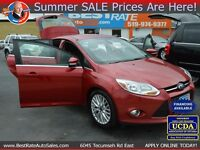 2012 Ford Focus SEL, $46/Weekly, BEST APPROVAL RATE!