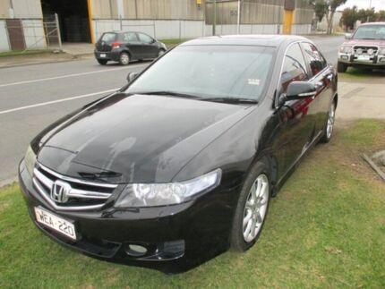 2008 Honda Accord Euro CU Luxury Black 5 Speed Automatic Sedan Tottenham Maribyrnong Area Preview