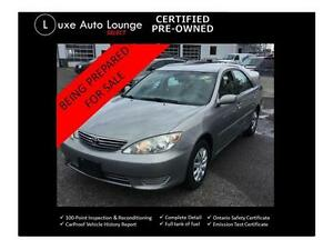 2006 Toyota Camry LE - low mileage! Auto, 4-cyl, power group, cr