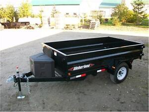 10 foot single axle dump trailer Kitchener / Waterloo Kitchener Area image 2