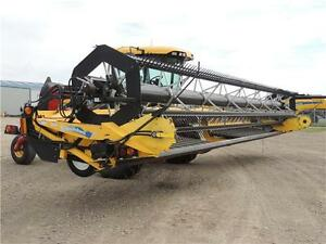2012 NH H8060 Swather 36', 2 Roto Shears, Roller, Ez-Pilot,524hr Regina Regina Area image 4