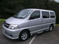 TOYOTA HI-ACE 2.5 280 SWB D-4D 120 1d 116 BHP DAY VAN Conversion (silver) 2009