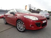 2010 Renault Megane X95 Dynamique Red Continuous Variable Cabriolet Pooraka Salisbury Area Preview